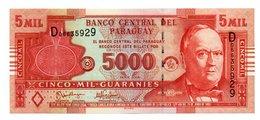 PARAGUAY=2005   5.000  GUARANIES   P-223    UNC - Paraguay