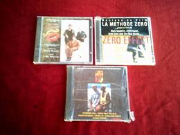 COLLECTION DE 3 CD ALBUMS  DE BANDE ORIGINAL DE  FILM ° ZERO EFFECT + VICTOR VICTORIA + WHITE MEN CAN'T RAP - Musique & Instruments