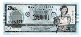 PARAGUAY=2005   20.000  GUARANIES   P-225    UNC - Paraguay