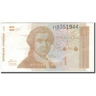 Billet, Croatie, 1 Dinar, 1991, KM:16a, TTB - Croatie