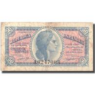 Billet, Espagne, 50 Centimos, 1937, 1937, KM:93, TB - [ 3] 1936-1975: Regime Van Franco