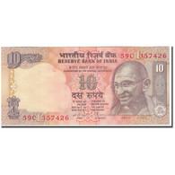 Billet, Inde, 10 Rupees, KM:89b, SUP - Inde