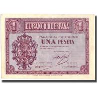 Billet, Espagne, 1 Peseta, 1937, 1937-10-12, KM:104a, SUP - [ 3] 1936-1975 : Régence De Franco