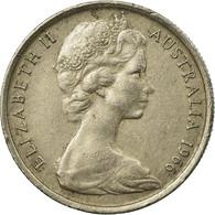Monnaie, Australie, Elizabeth II, 5 Cents, 1966, Melbourne, TTB, Copper-nickel - Victoria