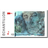France, 100 Francs, échantillon, SUP+ - Fouten
