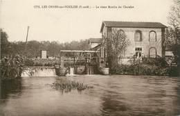 """/ CPA FRANCE 77 """"Les Ormes Sur Voulzie, Le Vieux Moulin Du Chatelot"""" - France"""