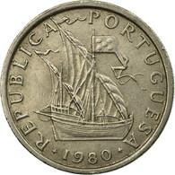 Monnaie, Portugal, 5 Escudos, 1980, TB+, Copper-nickel, KM:591 - Portugal