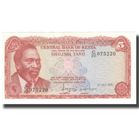 Billet, Kenya, 5 Shillings, 1978, 1978-07-01, KM:15, NEUF - Kenya