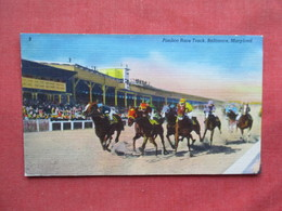 Pimlico Race Track Baltimore Maryland Slightly Smaller Possible Trim As Is     Ref 3233 - Chevaux