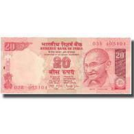 Billet, Inde, 20 Rupees, Undated (2002), KM:89Ad, SUP+ - Inde