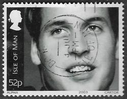 Isle Of Man SG1076 2003 21st Birthday Of Prince William 52p Good/fine Used [39/32041/25D] - Isle Of Man