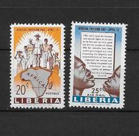 LOTE 1875  ///  (C015)  LIBERIA 1959 - YVERT Nº 361+ PA 116  **MNH    ¡¡¡¡LIQUIDATION !!!! - Liberia