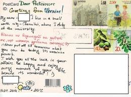 24H : Belarus Loving Couple, Castle Building, Plant Stamp Used On Rabbit Etc Multiview Animal Postcard - Belarus