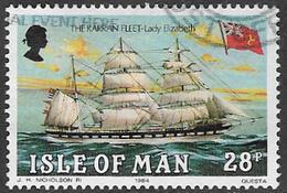 Isle Of Man SG262 1984 The Karran Fleet 28p Good/fine Used [12/12520/25D] - Man (Ile De)
