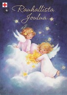 Little Angels On The Clouds - Red Cross 2003 - Postal Stationery - Suomi Finland - Postage Paid - Finlande