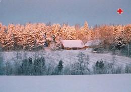 Winter Scene - Landscape - Red Cross 1998 - Postal Stationery - Suomi Finland - Postage Paid - Finlande