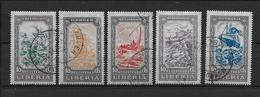 LOTE 1875  ///  (C015)  LIBERIA 1924  - YVERT Nº  35/39    ¡¡¡¡LIQUIDATION !!!! - Liberia