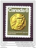 Canada, 1970, #531, Constructeur De Chemin De Fer, Train - Trains