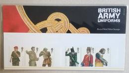 UK 2007. British Army Uniforms. Presentation Pack. MNH - Presentation Packs