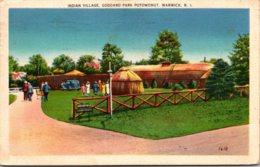 Rhode Island Warwick Indian Village Goddard Park Potowomut 1937 - Etats-Unis