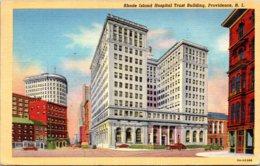Rhode Island Providence Rhode Island Hospital Trust Building 1945 Curteich - Providence