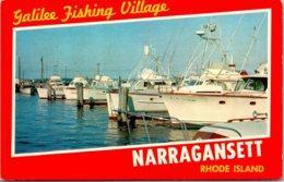 Rhode Island Narragansett Galilee Fishing Village Fishing Boats - Etats-Unis