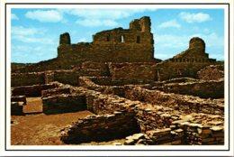 New Mexico Mountainair Abo State Monument Remnants Of San Gregprio De Abo Mission - Etats-Unis