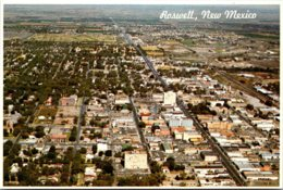 New Mexico Roswell Aerial View - Roswell