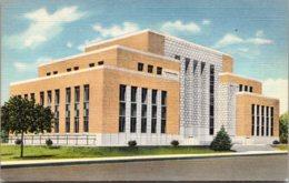 New Mexico Tucumcari Quay County Court House Curteich - Etats-Unis