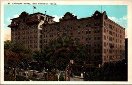 Texas Dallas The St Anthony Hotel - Dallas
