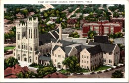 Texas Fort Worth First Methodist Church 1934 - Fort Worth