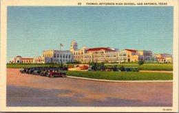 Texas San Antonio Thomas Jefferson High School Curteich - San Antonio