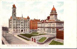 Nebraska Omaha City Hall Bee Building And Court House - Omaha