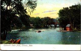 Nebraska Lincoln Epsworth Lake Park 1907 - Lincoln