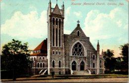 Nebraska Omaha Kountze Memorial Church 1909 - Omaha