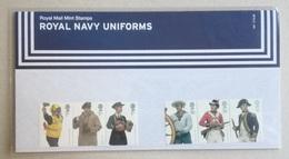 UK 2009. Royal Navy Uniforms. Presentation Pack. MNH - Presentation Packs