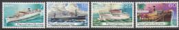 PAPUA NEW GUINEA, 1976 SHIPS 4 MNH - Papouasie-Nouvelle-Guinée