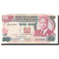 Billet, Kenya, 50 Shillings, 1987, 1987-07-01, KM:22d, SUP - Kenya