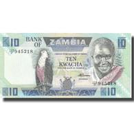 Billet, Zambie, 10 Kwacha, Undated (1980-88), KM:26e, NEUF - Zambia