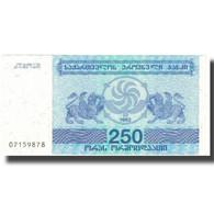 Billet, Géorgie, 250 (Laris), 1993, 1993, KM:43a, SPL - Georgia