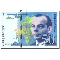 France, 50 Francs, St Exupéry, 1992, 1992, SPL+, Fayette:72.1aB, KM:157a - 1992-2000 Ultima Gama