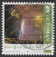 Isle Of Man 2018 Year Of Our Island 1st Type 2 Self Adhesive Good/fine Used [39/32046/ND] - Isle Of Man