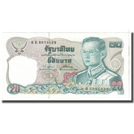 Billet, Thaïlande, 20 Baht, KM:88, SUP - Thaïlande
