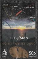 Isle Of Man SG MS868(ex) 1999 New Millennium 50p Type 2 Good/fine Used [39/32047/25D] - Isle Of Man