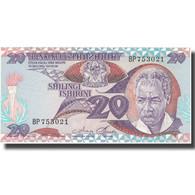 Billet, Tanzania, 20 Shilingi, Undated (1985), KM:9, NEUF - Tanzanie