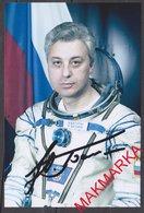 MAKMARKA SPACE RUSSIA 2018.10.02 Y.BATURIN SOYUZ ТМ-28/27, ТМ-32/31 AUTOGRAPH 1 FOTO (10Х15) - Autógrafos