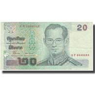 Billet, Thaïlande, 20 Baht, Undated (2003), KM:109, TTB - Thaïlande
