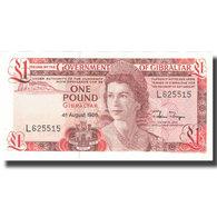 Billet, Gibraltar, 1 Pound, 1988, 1988-08-04, KM:20e, NEUF - Gibraltar