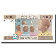 Billet, États De L'Afrique Centrale, 500 Francs, 2002, 2002, KM:306M, NEUF - Zentralafrikanische Staaten