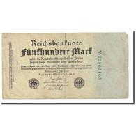 Billet, Allemagne, 500 Mark, 1922-07-07, KM:74c, TB - [ 3] 1918-1933 : Repubblica  Di Weimar